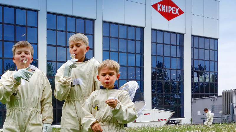 KNIPEX se ha fijado el objetivo de reducir el uso específico de energía en un 20 por ciento en 2020