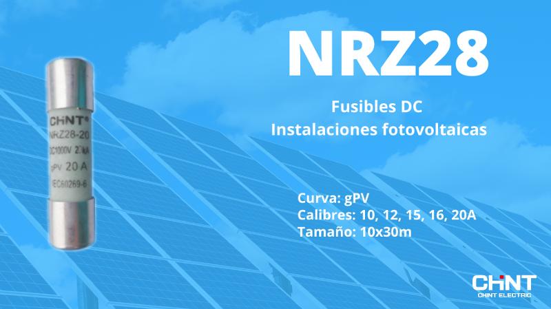 Nueva serie de fusibles DC de Chint Electrics para protecciones de instalaciones fotovoltaicas