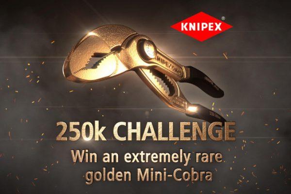 Ves a por el Oro: KNIPEX celebra sus 250,000 seguidores en Instagram