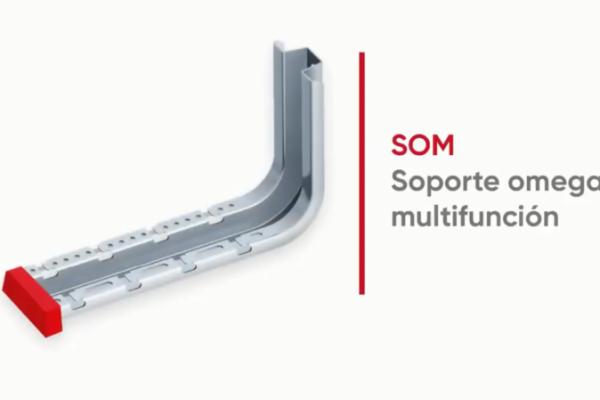 El soporte omega multifunción de Aiscan ahorra tiempo en la instalación