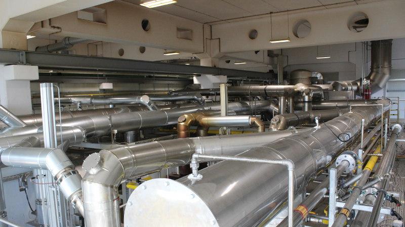 La expansión del taller de endurecimiento y el taller de recocido de Knipex aportan más calor al sistema de calefacción