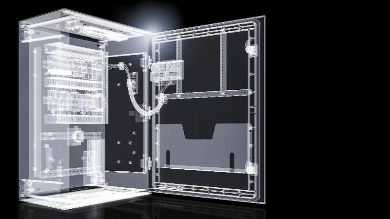 Las envolventes de sistemas de Rittal se adaptan a las exigencias de la digitalización
