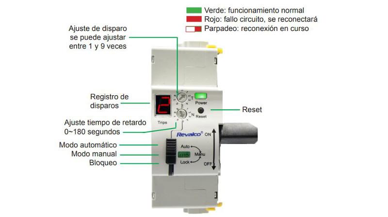 RV3142RA y RV3142RAL: Los reconectadores automáticos de Revalco vigilan y reconectan por sí mismos