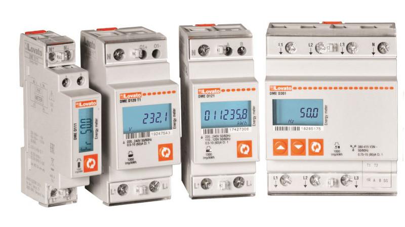 Lovato Electric presenta sus nuevos Contadores de Energía para Aplicaciones Eléctricas