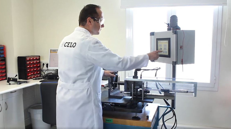 CELO realiza ensayos de laboratorio para garantizar la máxima calidad de sus productos
