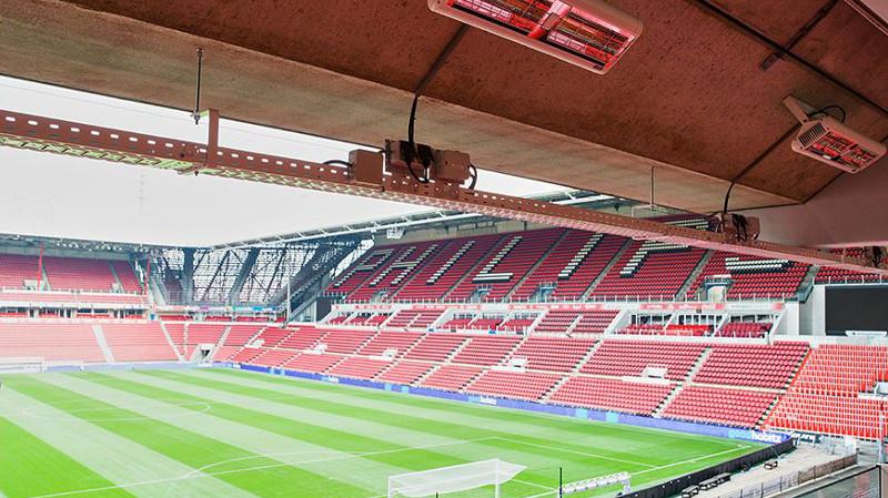 OBO suministra bandejas portacables al Estadio Philips