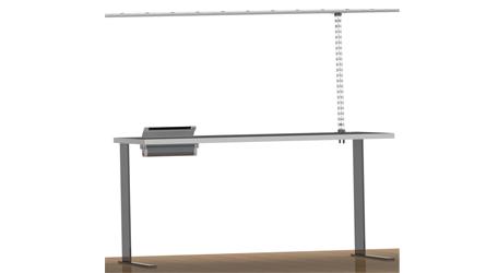 Organizador de cables de techo MMCONECTA: instalaciones singulares