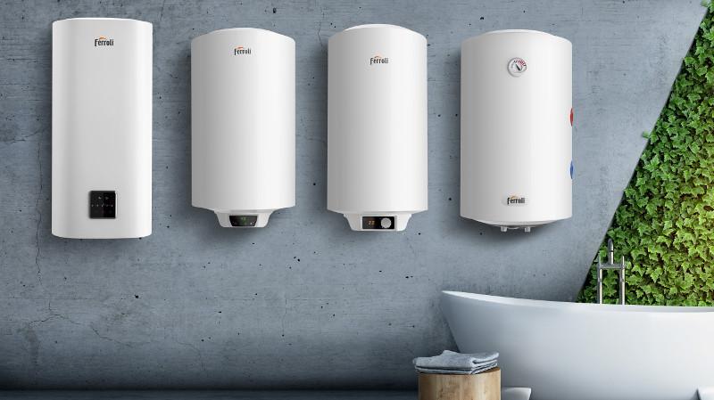 Ferroli presenta su nueva gama de termos eléctricos