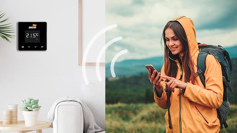 Connect Smart Wifi permite ahorrar con lacaldera de Cointra