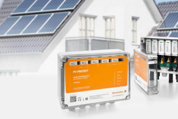 PV Protect de Weidmüller protege los sistemas fotovoltaicos óptimamente