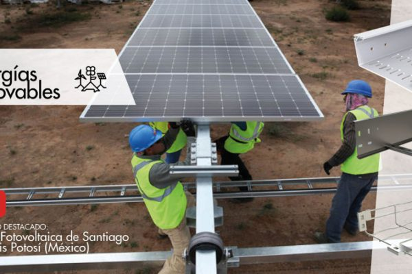 Basor ha desarrollado un proyecto en la planta fotovoltaica de Santiago