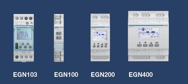 Nuevos programadores digitales horarios de Hager Es tiempo de cambios