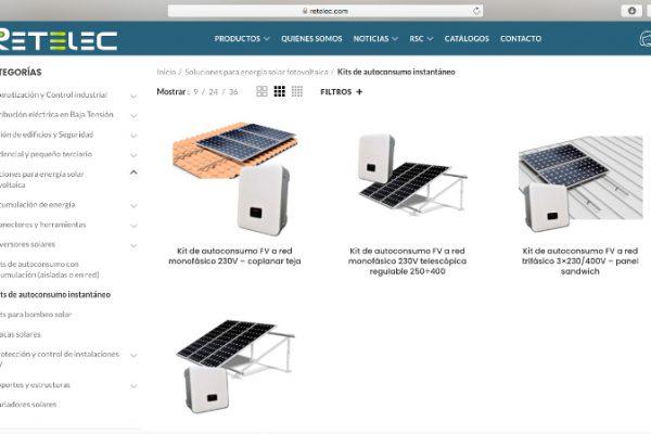 RETELEC SYSTEM estrena web con nuevas funcionalidades
