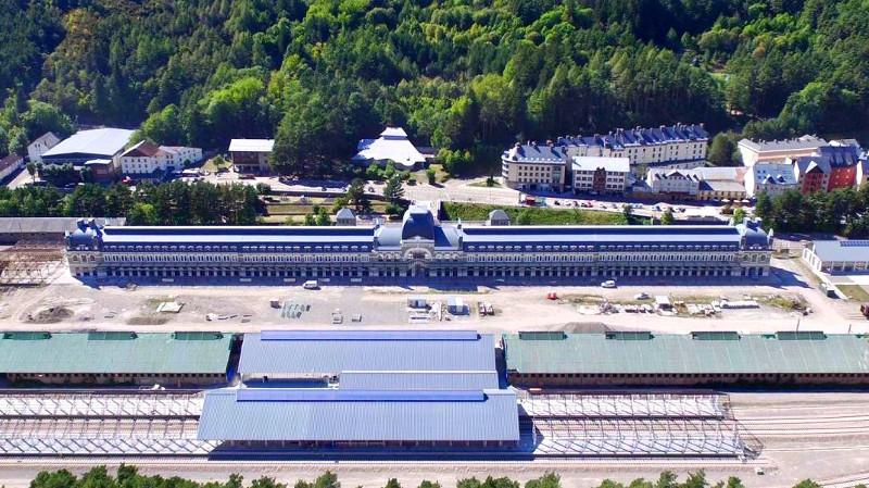 Optimus proporciona el sistema COMPACT para la Estación de Canfranc