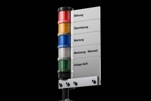 Columnas de señalización LED de Rittal para una mayor seguridad