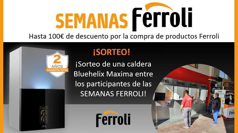 FERROLI organiza exposiciones itinerantes con los distribuidores