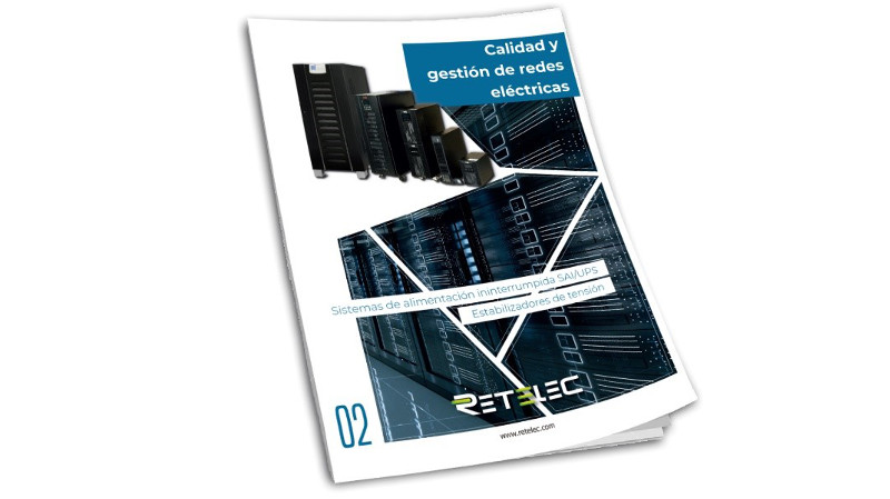 RETELEC SYSTEM lanza el nuevo catalogo de SAIs con mas soluciones