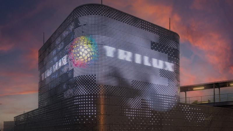 TRILUX inicia la cooperacion comercial con Carl Stahl para fachadas LED