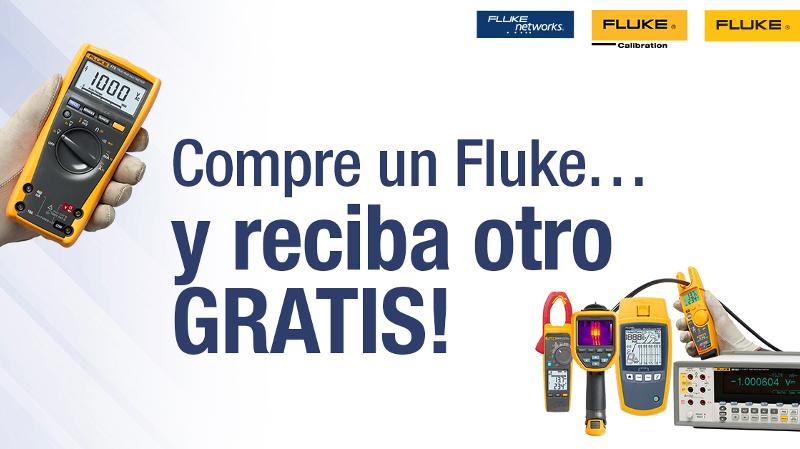 Fluke renueva su promoción Compre un Fluke y reciba otro gratis