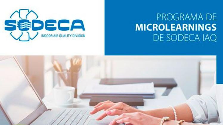 Valoración excelente del primer programa de Microlearnigs Sodeca IAQ